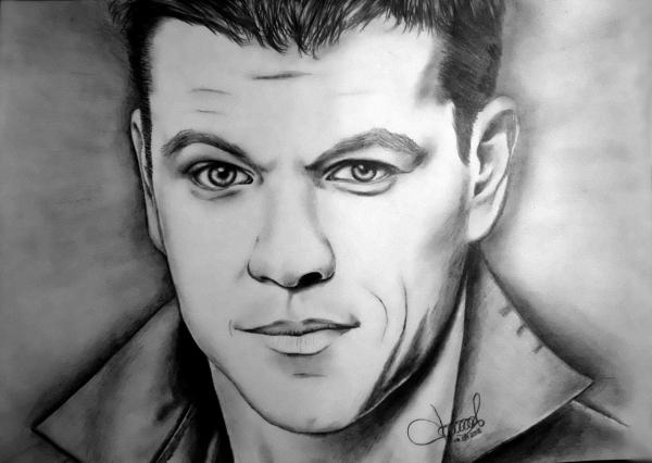 Matt Damon par Nikita1988